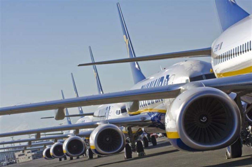 vuelos, empresas de aviación