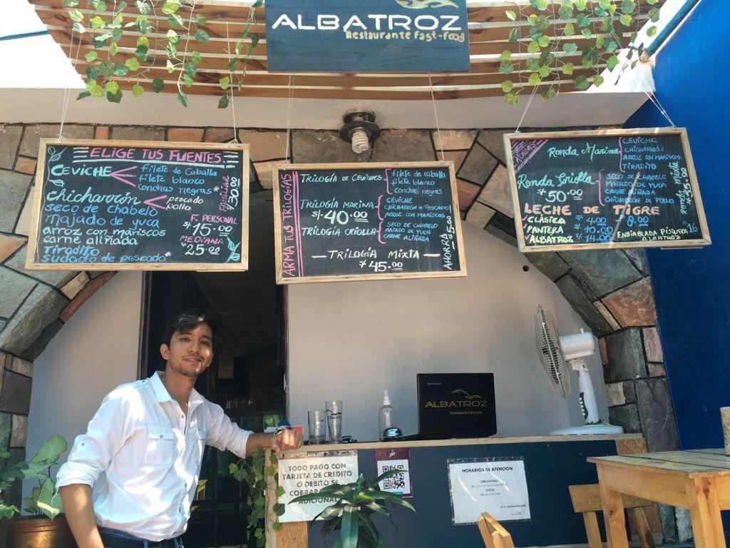 Albatroz, un restaurante que se caracteriza por innovar en sus platos