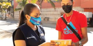 Pañales ecológicos y restaurante de comida fusión, dos emprendimientos que integran a peruanos y venezolanos